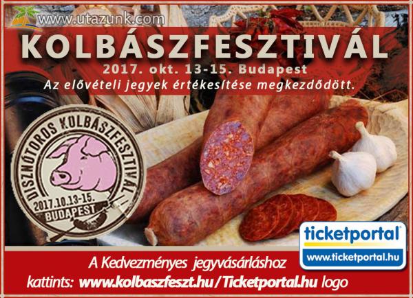 Disznótoros Kolbászfesztivál Budapesten