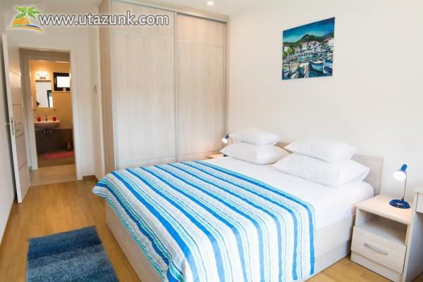 Kiadó 4 fős apartman Dubrovnik központjában,150 méterre a strandtól