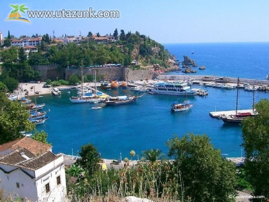 A török riviéra: Antalya