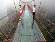 Csak az igazán bátraknak: üveghíd Kínában
