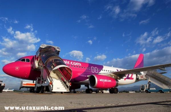 WizzAir - leszállás után