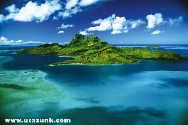 Bora Bora látkép