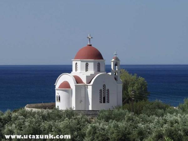 Kápolna Kréta szigetén