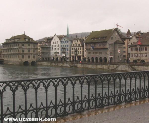 Zürich belvárosa