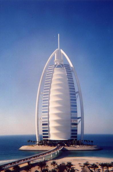 A világ egyetlen hétcsillagos szállodája (Dubai)