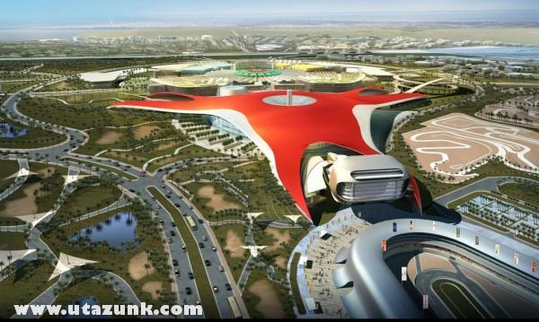 Abu Dhabi - Ferrari-park