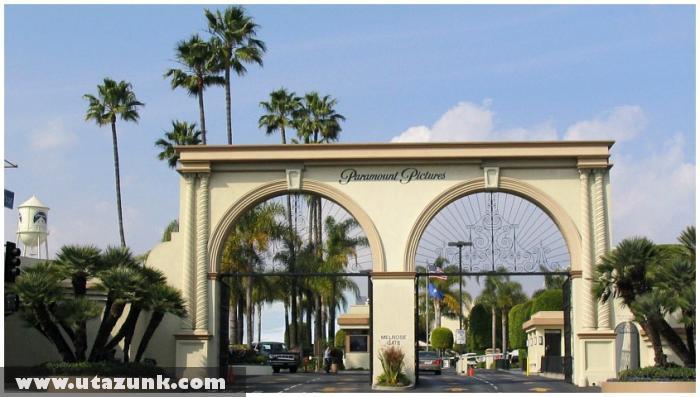 Los Angeles - Paramount filmstúdió bejárata