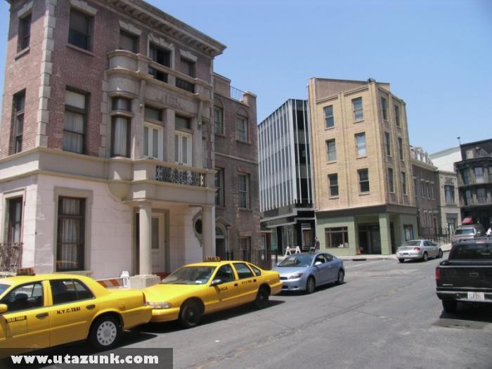 New-York város díszlete a Paramount filmstúdióban