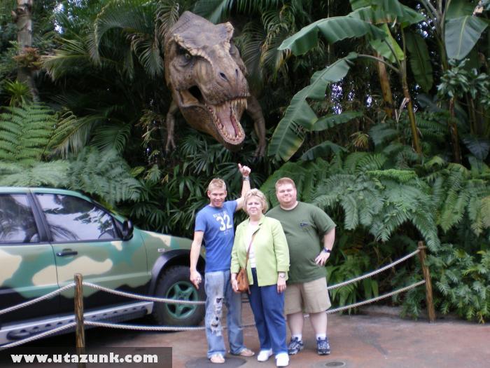 Jurassic Park díszlet Los Angelesben