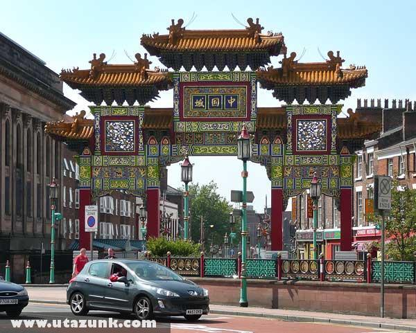 Kínai kapu Liverpoolban