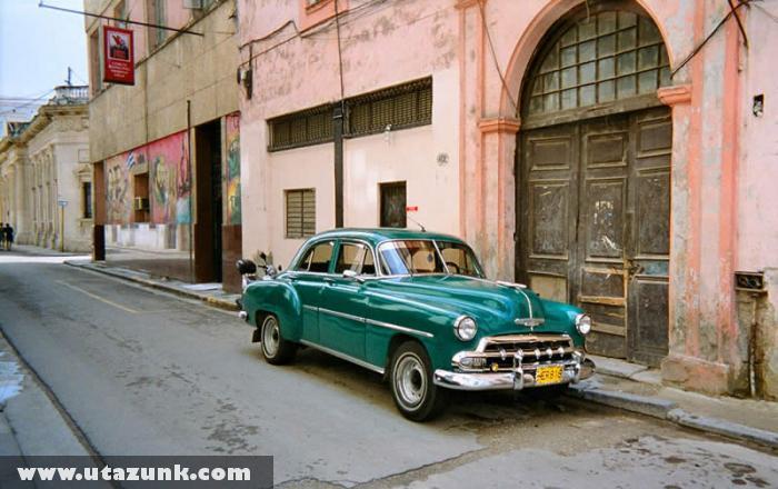 Havanna utcakép