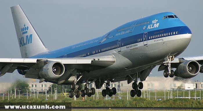 747 leszállás elõtti pillanata