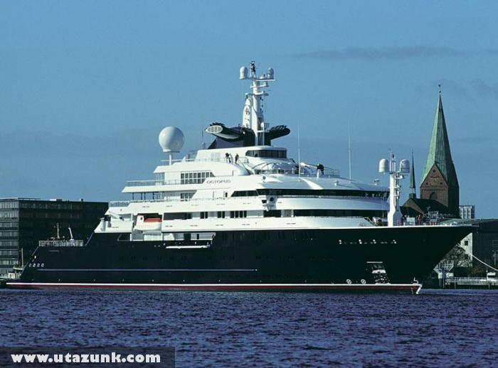 Bill Gates magán csónakja