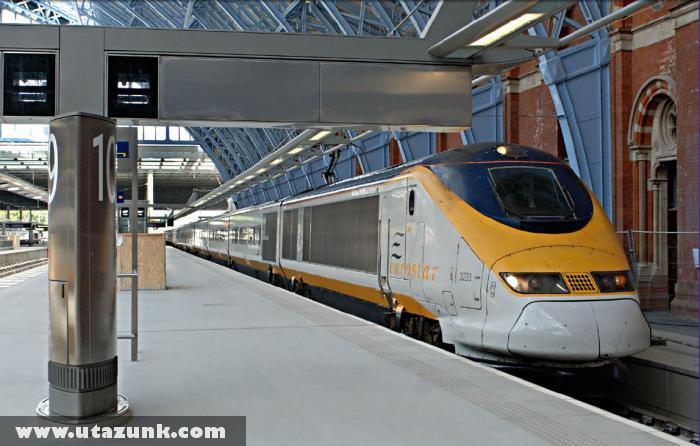 London, Eurostar indul Párizs felé