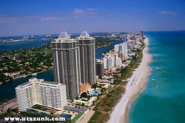 Szállodasor Miamiban