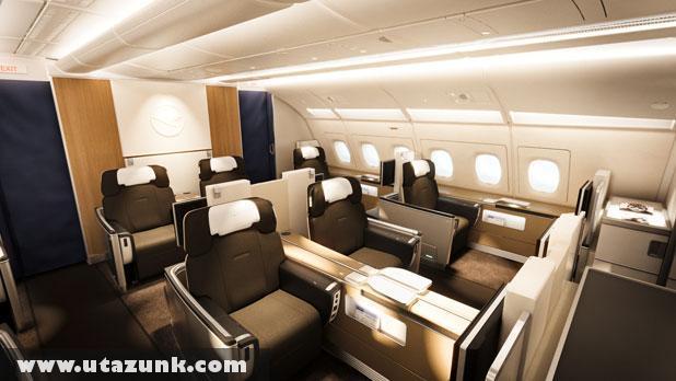Modern kényelem a Lufthansa járatain