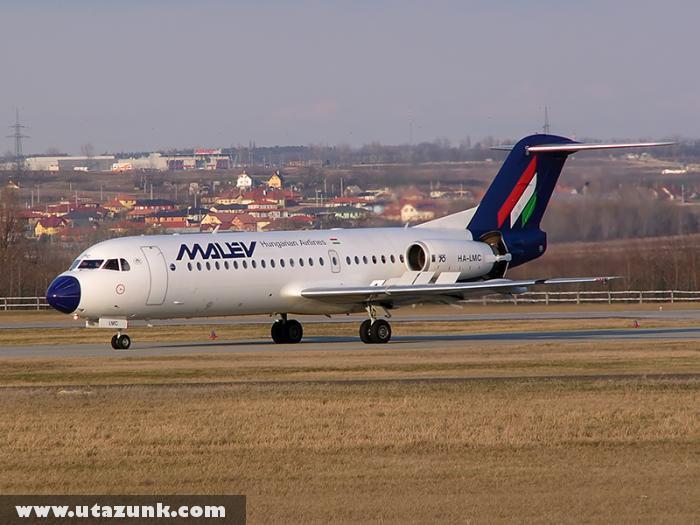 A kivont Fokker70-es