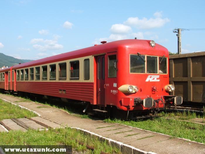 Vonat Romániában