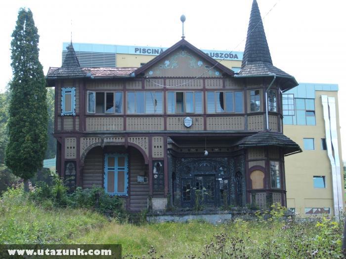 Elhagyott villa Szovátán