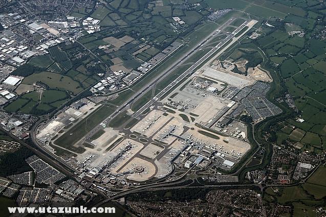 Gatwick Airport felülrõl