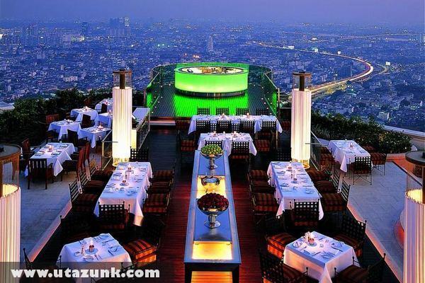 Bangkok, Étterem a város felett