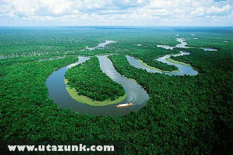 Az Amazonas kanyarulatai