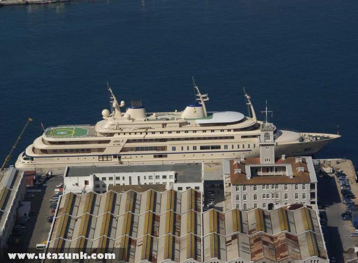 Az ománi szultán Al Said nevû jachtja