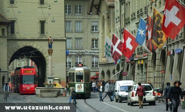 Bern belvárosa