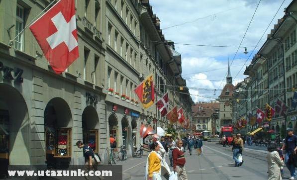 Berni utcakép