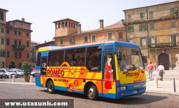 Rómeó busz Veronában