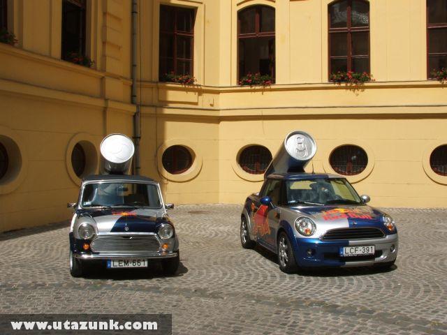 Red Bull Car a Szegedi Városházán