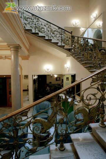 Tisza Hotel lépcsőház, Szeged
