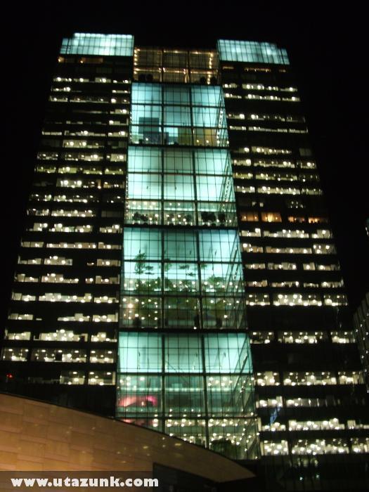 London, Felhõkarcoló éjjel