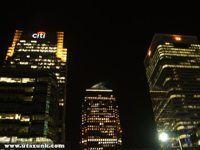 Bankok központjai Londonban