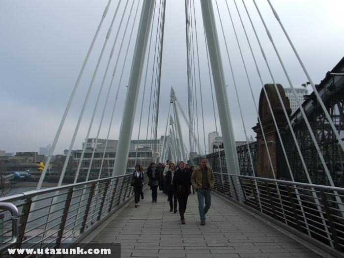 London, Charing Cross Bridge