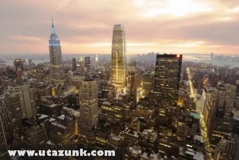 New York a Penn Plaza ablakából