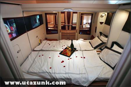 Kényelem az Airbus A380 fedélzetén