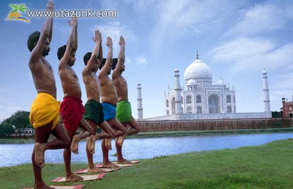 A szerelem igazi jelképe - Taj Mahal