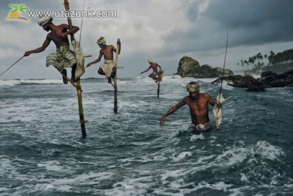 A világ egy részén így horgásznak