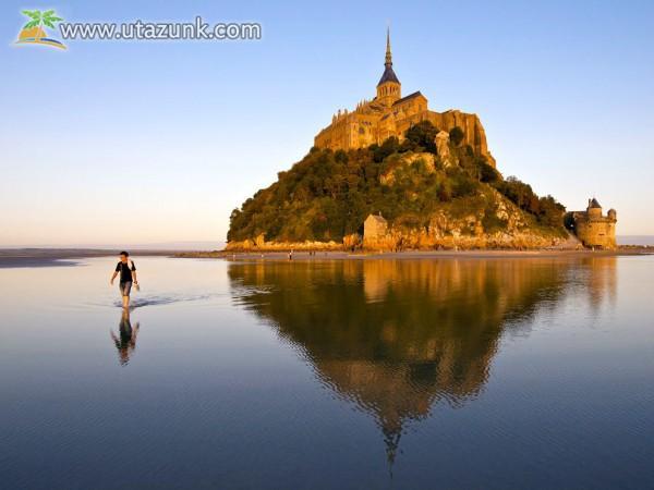 A vízzel körül vett csoda. Mont Saint Michel