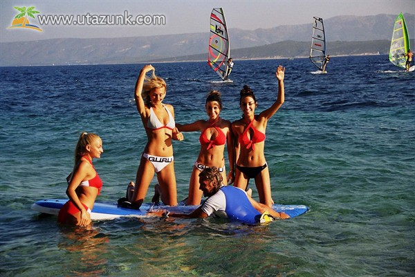 A windsurf egyre népszerűbb a partokon