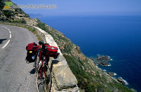 Biciklis túra a tengerre