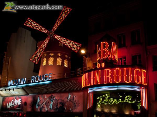 Moulin Rouge Párizsban