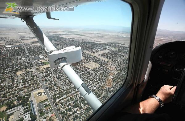 Repülőgépes városnézés