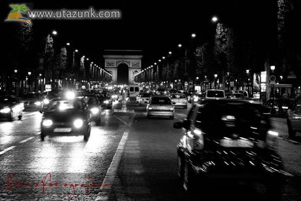 Romantikus párizsi éjszaka