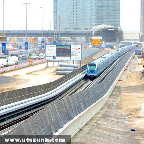 Az új dubai metróvonal