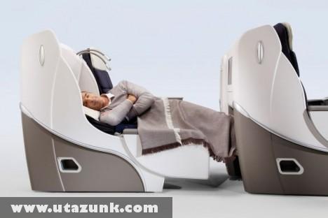 Az Air France kényelme a repülõgépek fedélzetén