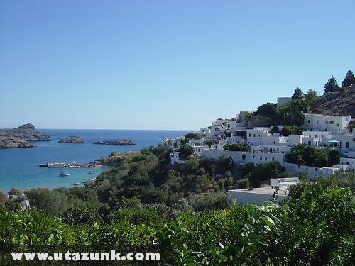 Görög házak Rodosz szigetén