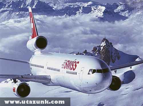Swiss az Alpokban