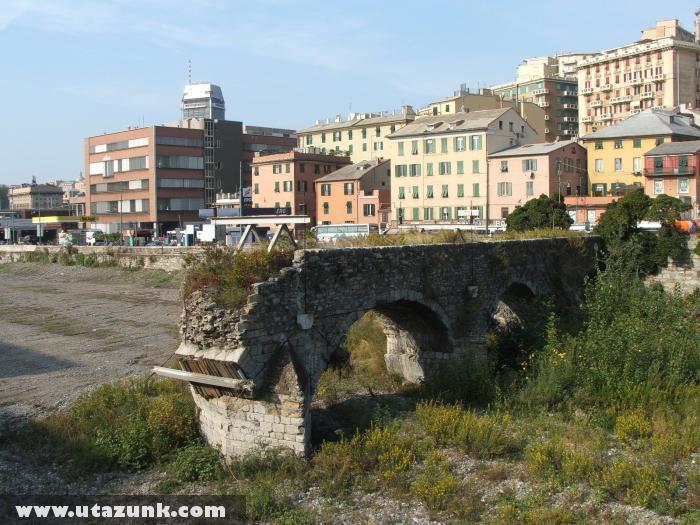 Genova: Egy híd a múltból